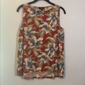Chaps blouse size M